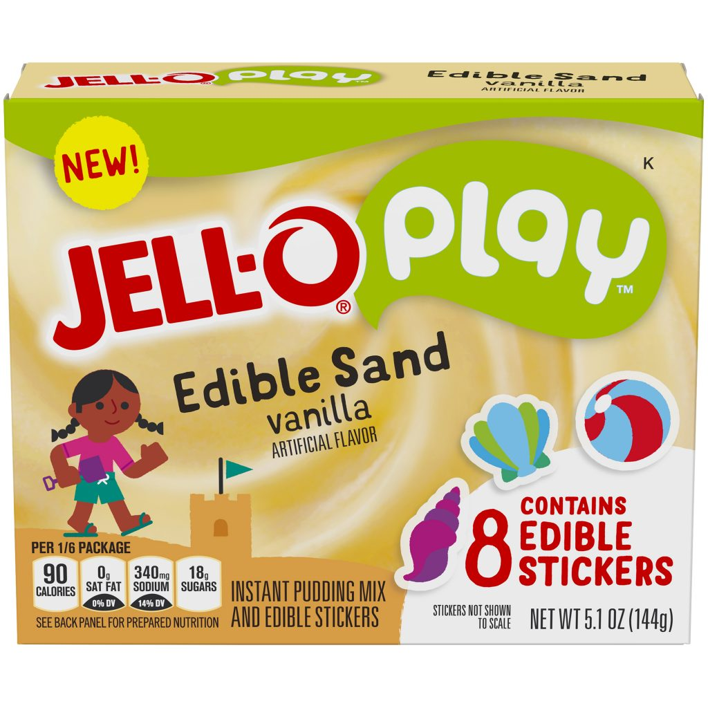 Jell-O Play boxes: As if kids need more excuses to play ...