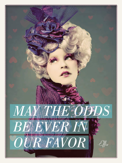 Hunger Games Valentines May The Odds Be Ever In Our Favor