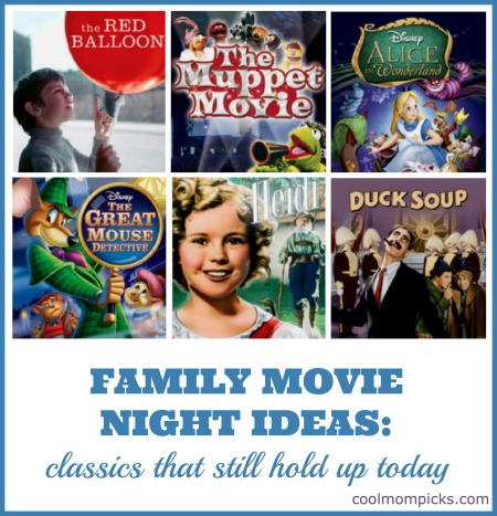 Family Movie Night Ideas 7 Classic Kids Movies That