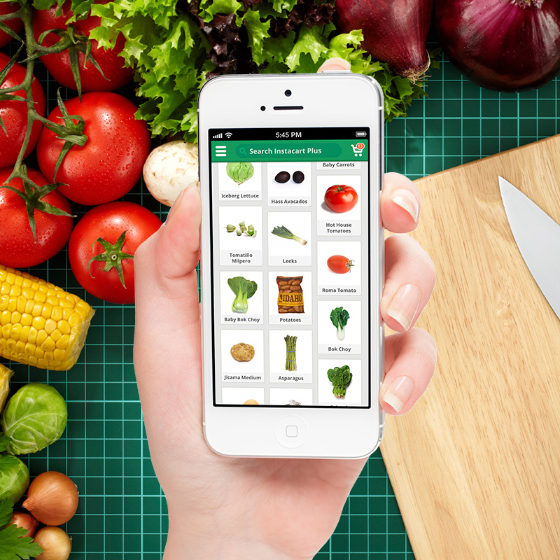 Grocery Shopping Service App