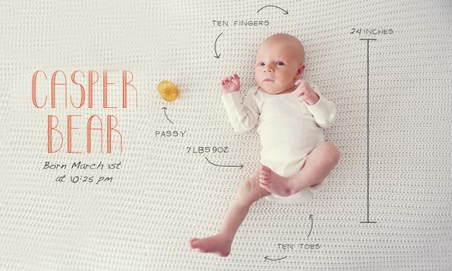 10 creative birth announcement