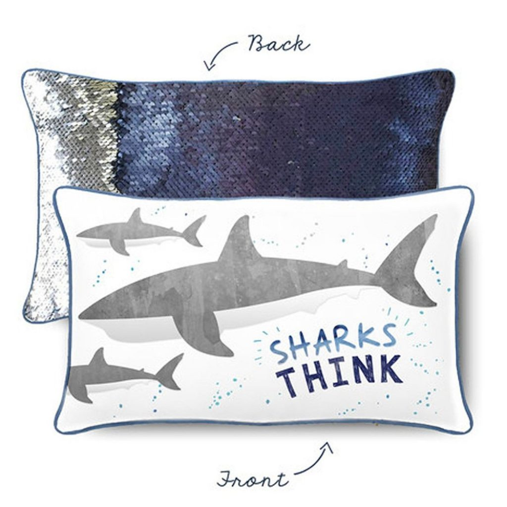 a mermaid pillow so mesmerizing your