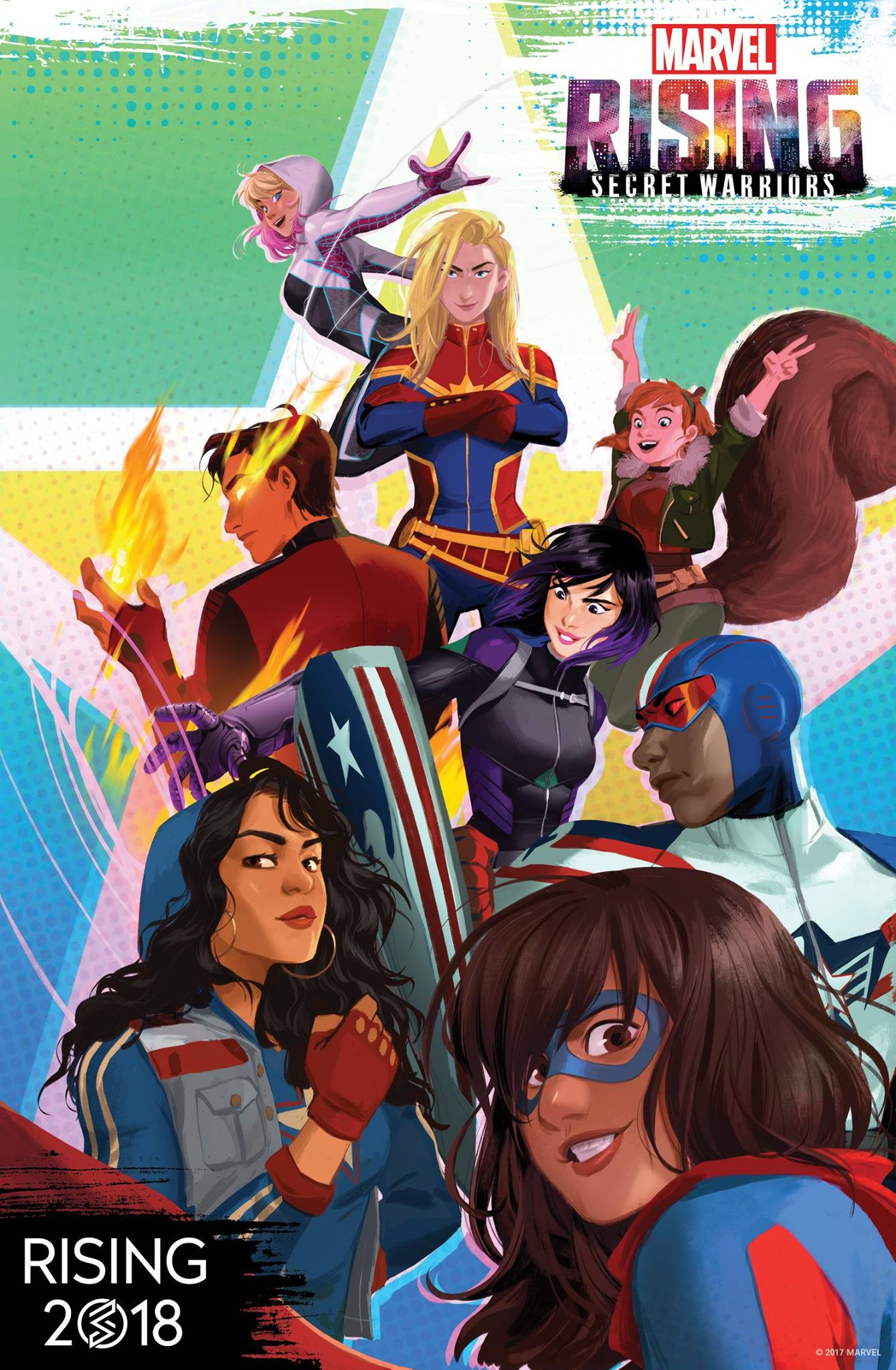 The Diverse Heroes Of Marvel Rising Secret Warriors Are