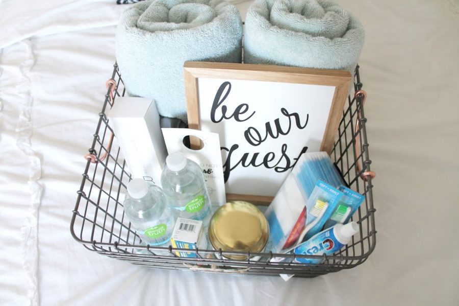 Wonderful ideas for making a guest room feel extrawelcoming