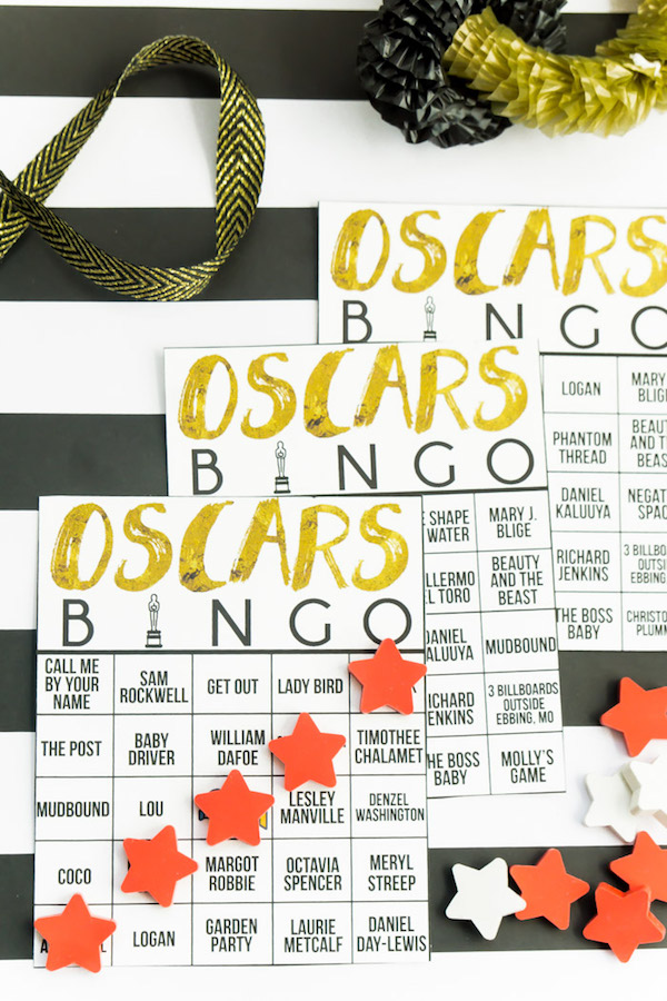 11 clever oscar party