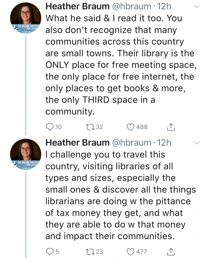 Why we need libraries: Twitter claps back against a truly
