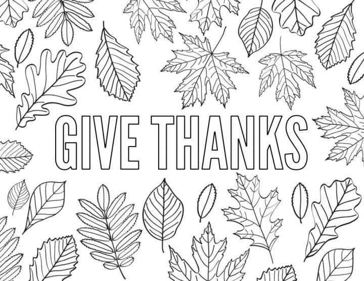 Free Printable Gratitude Coloring Pages Irfandiawhite Co