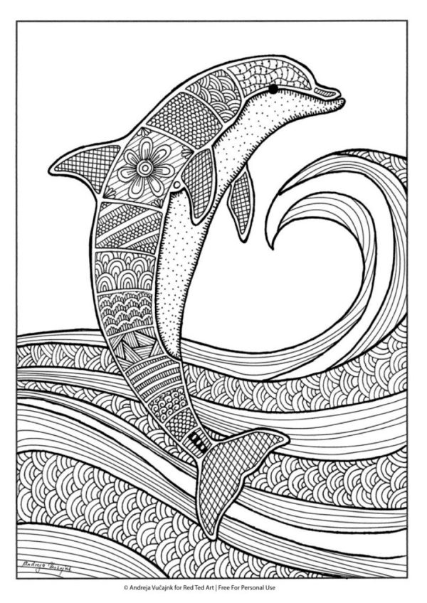 free detailed coloring pages # 44