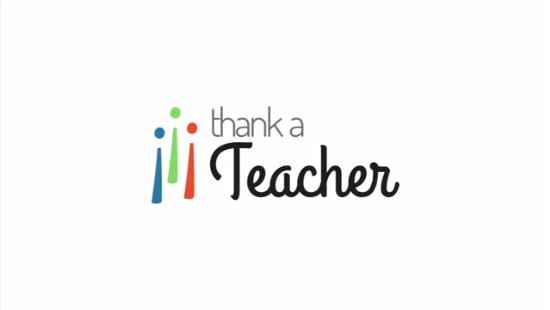 Thank a Teacher sends a free thank you note to your