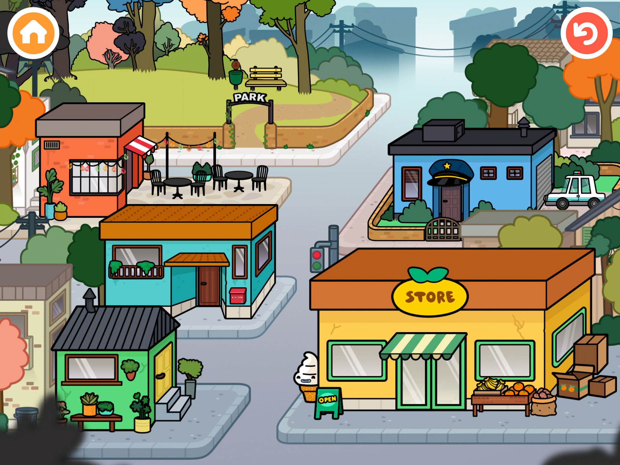 Toca Town App Review Like A Dollhouse With Easy Cleanup