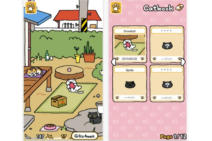 neko atsume kitty collector