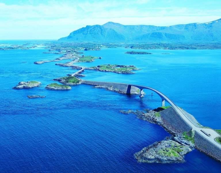 Carretera del Atlántico Noruega