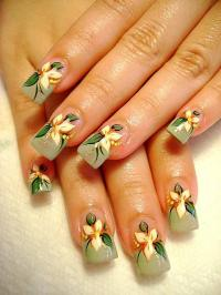 Free Hand Drawing Nail Design - Nail Art Design From ...