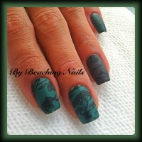 Nail Designs with Cute Animals in the Jungle - Nail Art ...