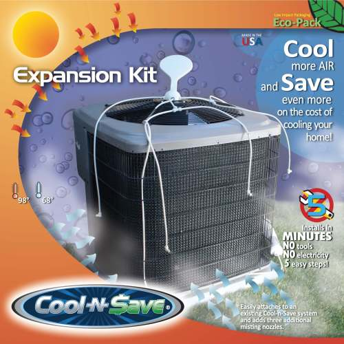 Cool-n-Save AC Misting Expansion