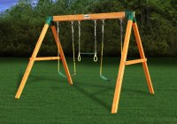 Swing Set For Small Backyard | Outdoor Goods