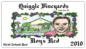 Quiggle Vineyards Roy's Red Label