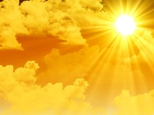 sunshine-yellow-sky-clouds