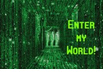 enter-my-world-green-matrix-logo