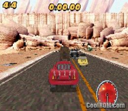 Cars MaterNational Championship ROM Download for Gameboy