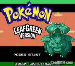 Image result for Pokemon Leaf Green