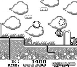 Kirby's Dream Land ROM Download for Gameboy Color / GBC