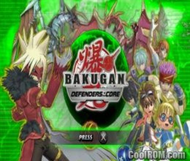 Bakugan Battle Brawlers Defenders Of The Core