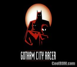 Batman - Gotham City Racer ROM (ISO) Download for Sony Playstation / PSX - CoolROM.co.uk