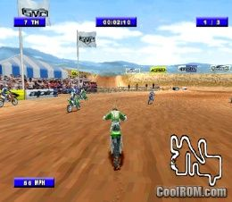 Championship Motocross 2001 Featuring Ricky Carmichael ROM (ISO) Download for Sony Playstation ...