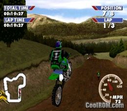 Championship Motocross Featuring Ricky Carmichael ROM (ISO) Download for Sony Playstation / PSX ...