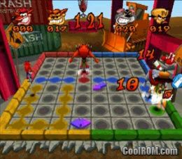Crash Bash ROM (ISO) Download for Sony Playstation / PSX - CoolROM.com