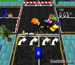 Dare Devil Derby 3D ROM (ISO) Download for Sony Playstation / PSX - CoolROM.com