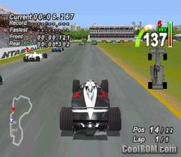 F1 World Grand Prix - 1999 Season ROM (ISO) Download for Sony Playstation / PSX - CoolROM.com