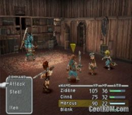 Final Fantasy IX Disc 1 V11 ROM ISO Download For Sony Playstation PSX