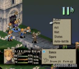 Final Fantasy Tactics ROM ISO Download For Sony