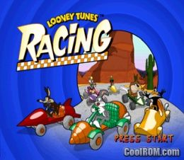 Looney Tunes Racing ROM (ISO) Download for Sony Playstation / PSX - CoolROM.com