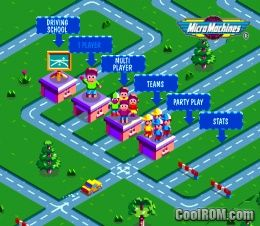 Micro Machines V3 ROM (ISO) Download for Sony Playstation / PSX - CoolROM.com