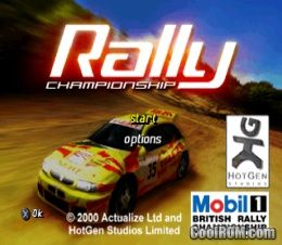 Mobil 1 Rally Championship ROM (ISO) Download for Sony Playstation / PSX - CoolROM.com