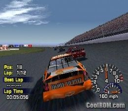 NASCAR Thunder 2004 ROM (ISO) Download for Sony Playstation / PSX - CoolROM.com.au