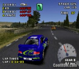 Need for Speed - V-Rally 2 ROM (ISO) Download for Sony Playstation / PSX - CoolROM.com