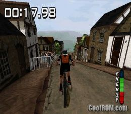 No Fear Downhill Mountain Bike Racing ROM (ISO) Download for Sony Playstation / PSX - CoolROM.com