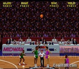 NBA Jam Tournament Edition ROM Download For Super Nintendo