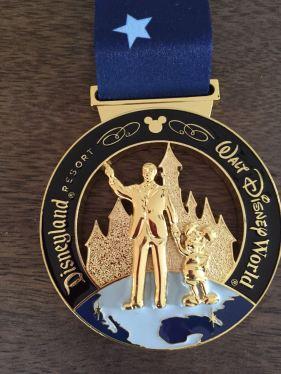 Coast to Coast Challenge Medal
