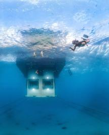 Manta Resort Underwater Hotel