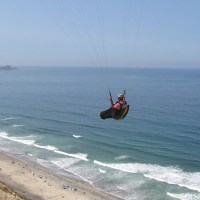 Taking flight at the Torrey Pines Gliderport!