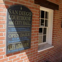 First San Diego Courthouse Museum in Old Town.
