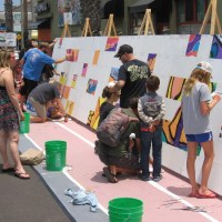 Artists add life to the Ocean Beach Street Fair!