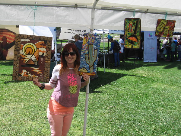 Great ideas at South Bay Earth Day  Cool San Diego Sights