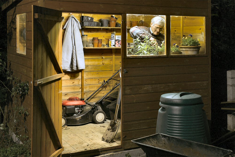 Tool Shed Plans – Build A Shed Workshop Cool Shed Design