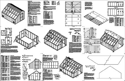 14 X 40 Shed Plans : Building A Lean To Shed-8 Significant